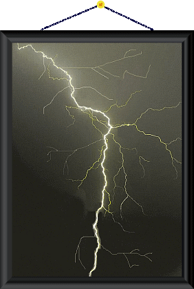 Foto vom Blitz.